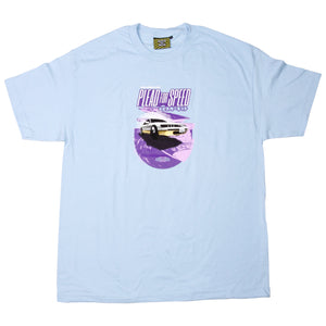 JDM II T-SHIRT, POWDER BLUE