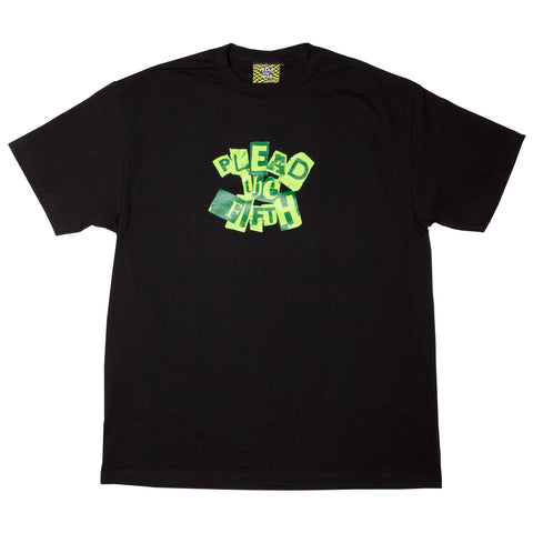 RANSOM T-SHIRT,  BLACK