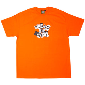 RANSOM T-SHIRT | ORANGE