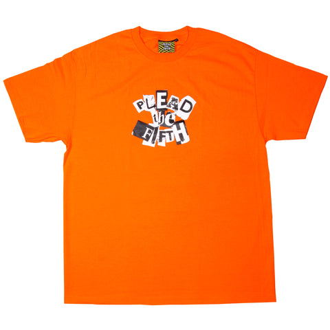 RANSOM T-SHIRT, ORANGE