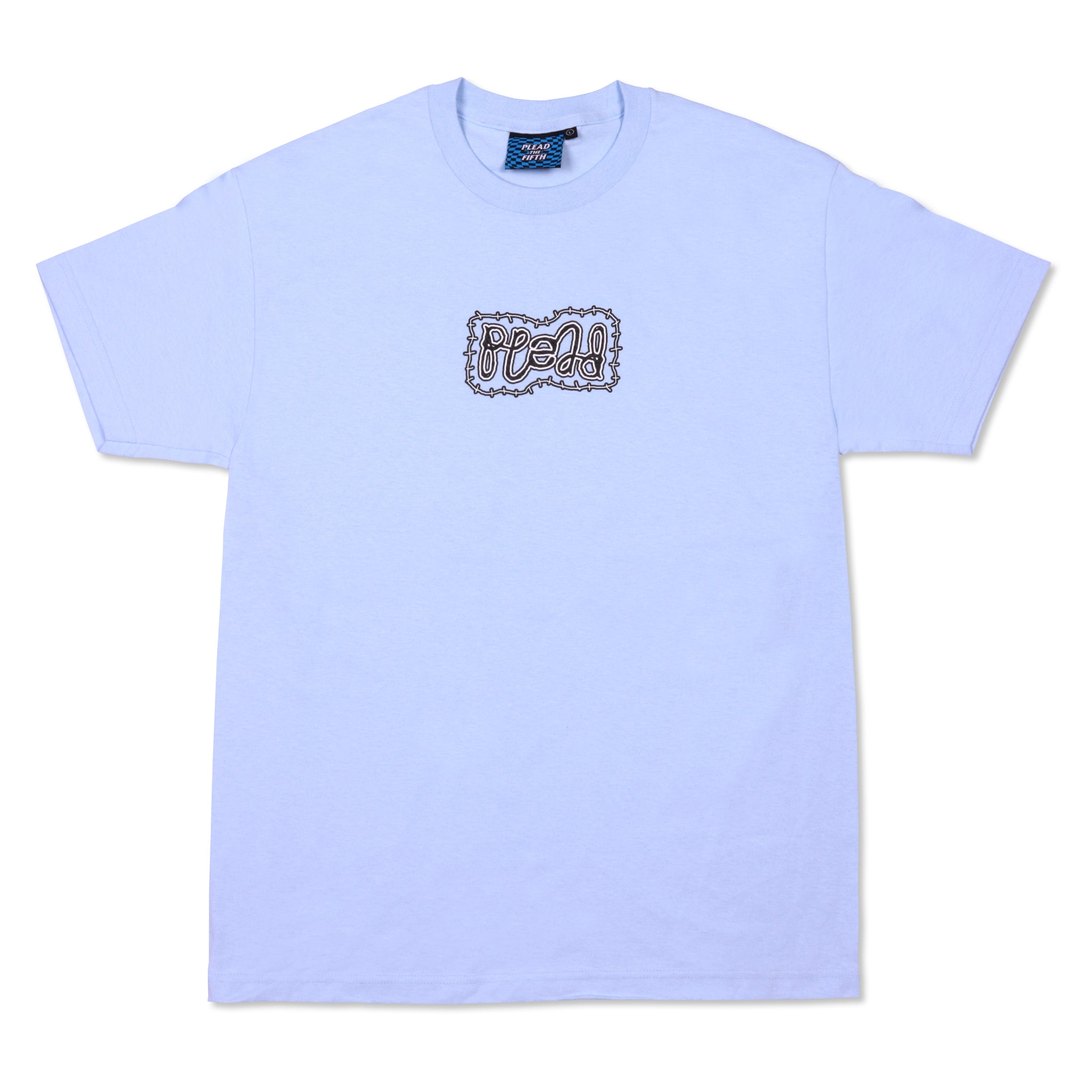 AMBIGRAM TEE, POWDER BLUE
