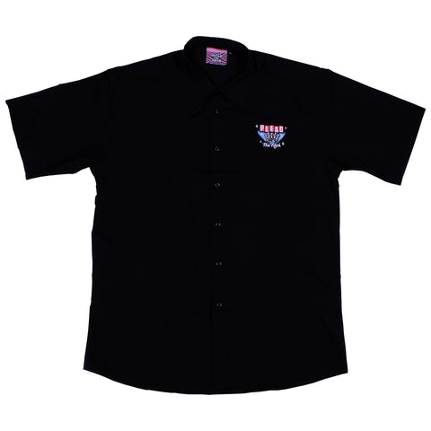 BOWLING SHIRT, BLACK