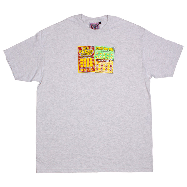 SCRATCH 'N' WIN T-SHIRT | ASH GREY