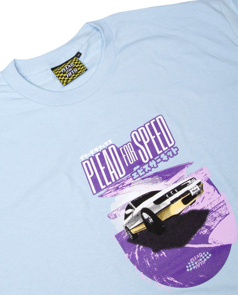 JDM II TEE, POWDER BLUE