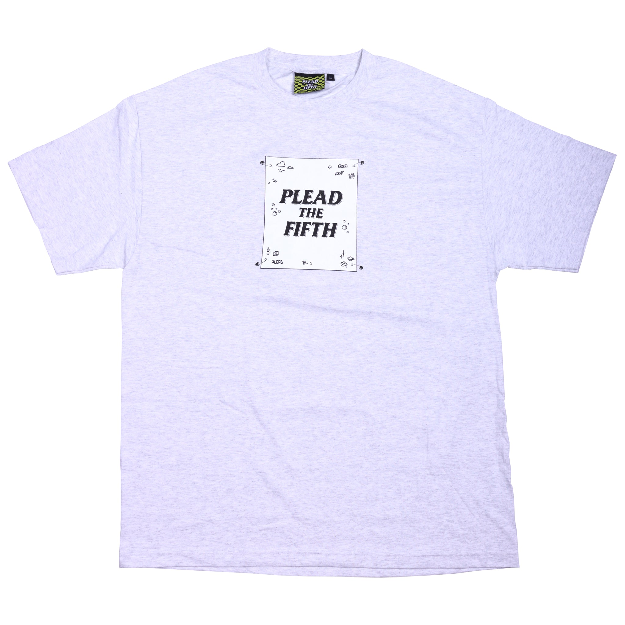 MAKESHIFT TEE, ASH GREY