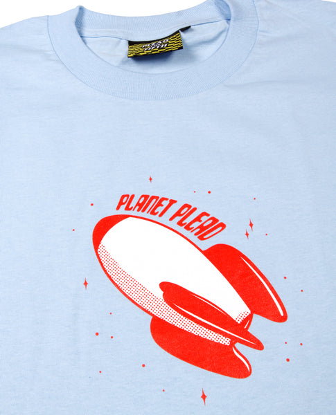 PLANET PLEAD T-SHIRT | POWDER BLUE