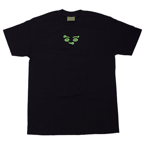 SMILEY T-SHIRT | BLACK