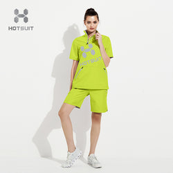 Women's short sauna suit 6825013