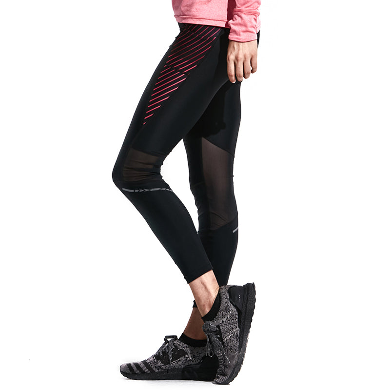 Mesh Detailing Compression Tights 6692300