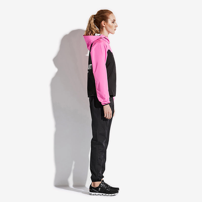 Classic Ex - Women's Half Zip Pullover Sauna Suit - Jacket and Pants 6540904