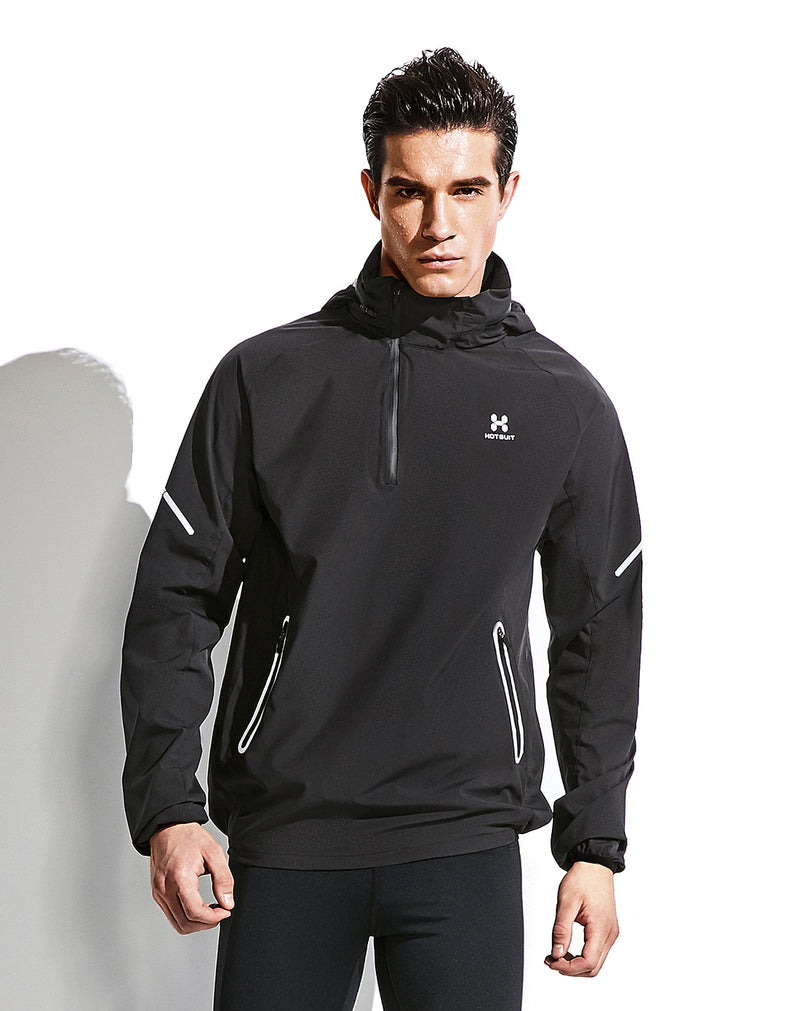 Men's half zip tatting saunasuit sweat jacket 5755001