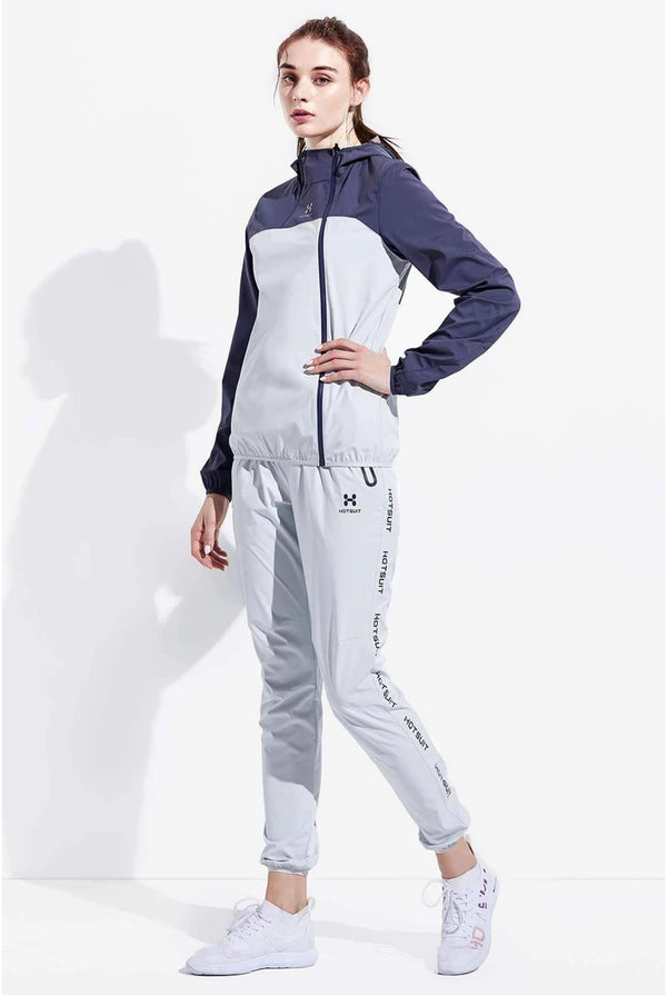 HOTSUIT WOMEN SAUNA SUIT NANO SILVER (JACKET & PANTS)- SUMMER NEW ARRIVAL 6855031