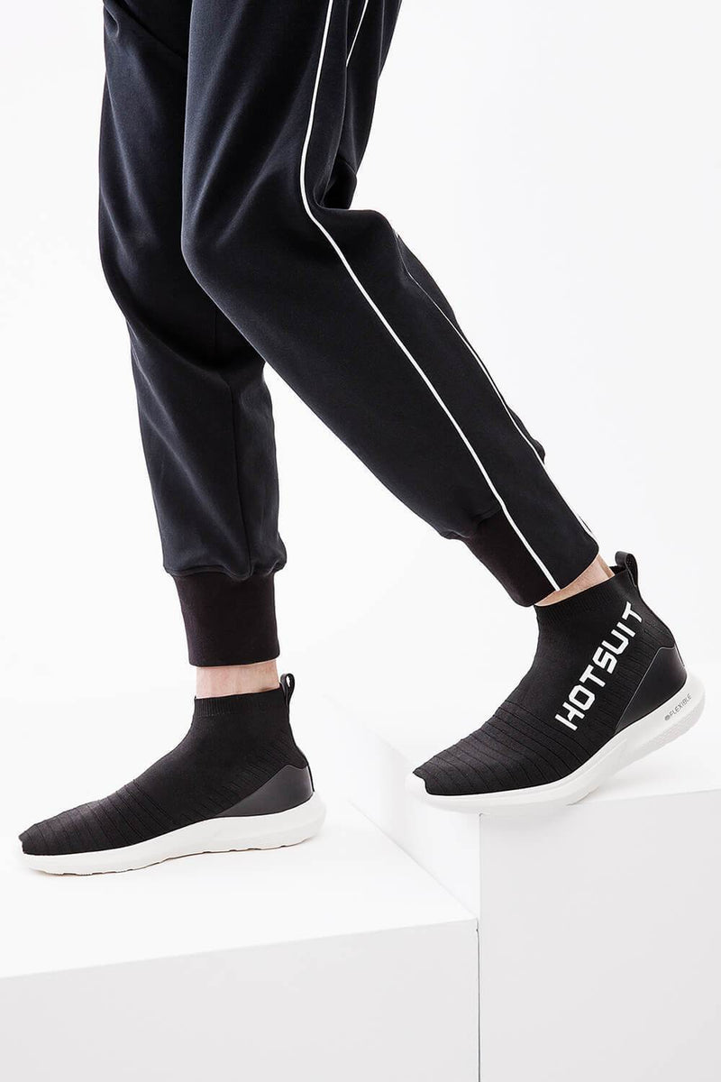 HOTSUIT MEN KNITTED SNEAKERS HIGH TOP SOCK BOOTS - FLEXIBLE   5882801