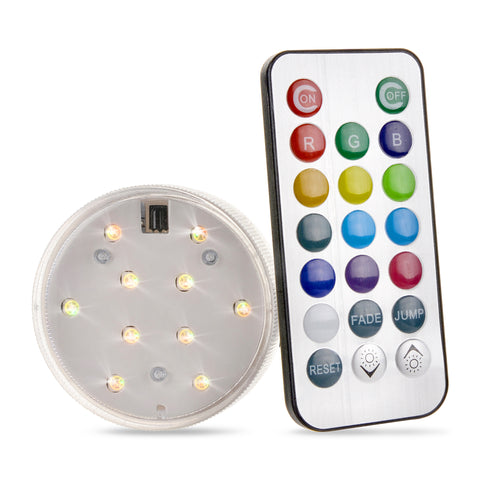 LED with Remote Control