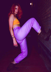 Street Fighter Purple Pants - Ryoko Market