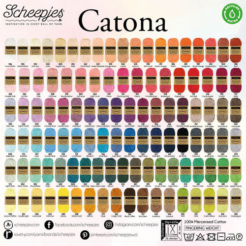 AMI DEAL! Catona and Tulip Etimo Red (Colours 074-399)