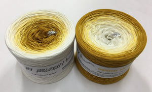 Wolltraum - My Melodyy Gradient Yarn: Goldener Mond