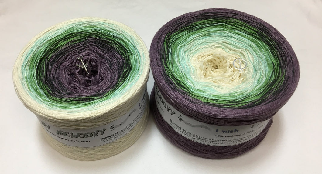 Wolltraum - My Melodyy Gradient Yarn: I wish