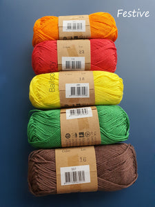 AMI DEAL! Catona and Tulip Etimo Red (Colours 400-528 & Etimo hooks)