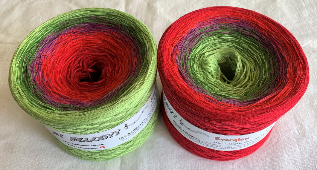 Wolltraum - My Melodyy Gradient Yarn: Everglow