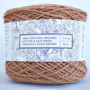 Pakucho Natural Pigment Cotton (Certified Organic)