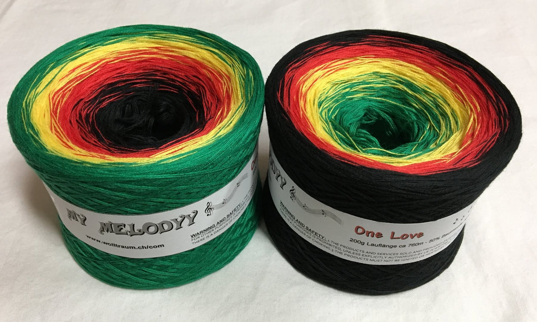 Wolltraum - My Melodyy Gradient Yarn: One Love