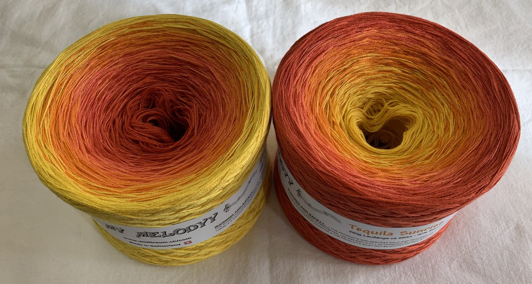 Wolltraum - My Melodyy Gradient Yarn: Tequila Sunrise