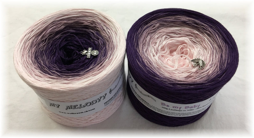 Wolltraum - My Melodyy Gradient Yarn: Be my Baby