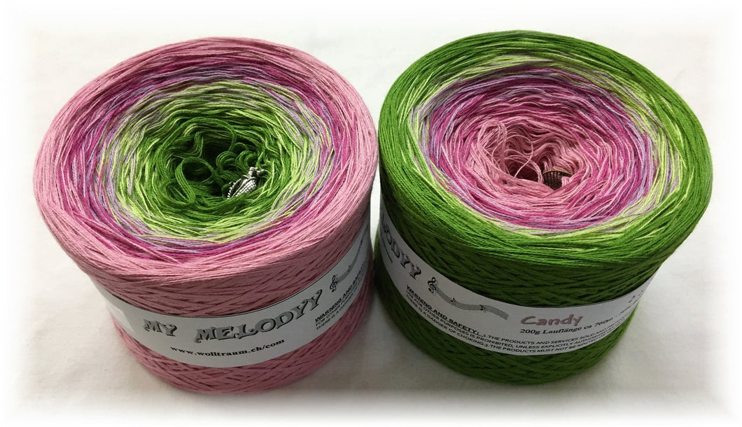 Wolltraum - My Melodyy Gradient Yarn: Candy