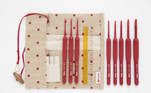 Load image into Gallery viewer, Tulip Etimo Red Crochet Hooks or Set