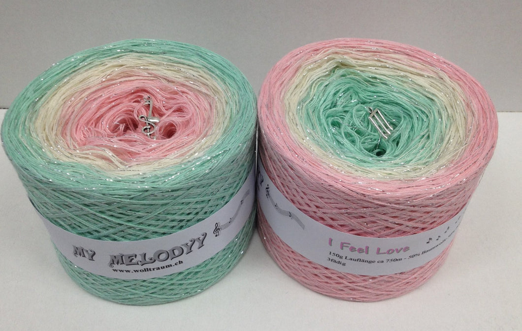 Wolltraum - My Melodyy Gradient Yarn: I feel Love