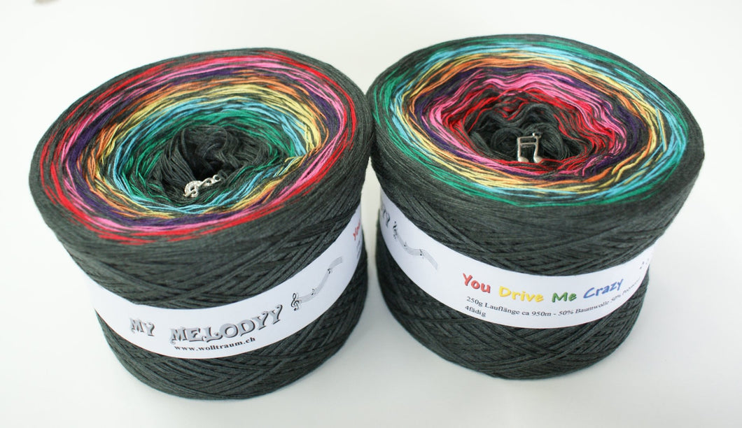 Wolltraum - My Melodyy Gradient Yarn: You Drive Me Crazy