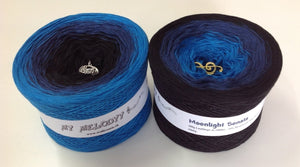 Wolltraum - My Melodyy Gradient Yarn: Moonlight Sonata