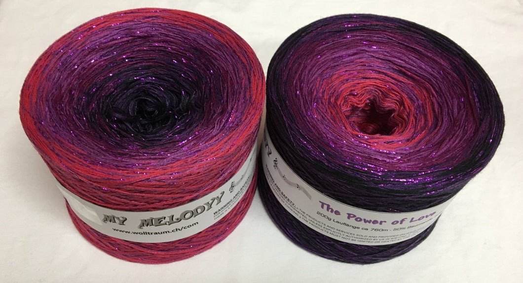 Wolltraum - My Melodyy Gradient Yarn: The Power of Love