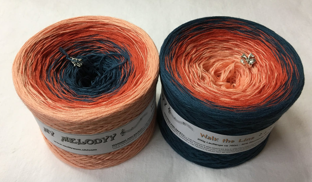 Wolltraum - My Melodyy Gradient Yarn: Walk the Line