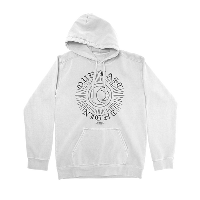 Escape from Hell White Hoodie