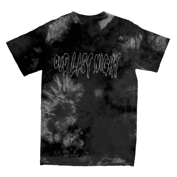 Overcome the Darkness Black Dyed Tee