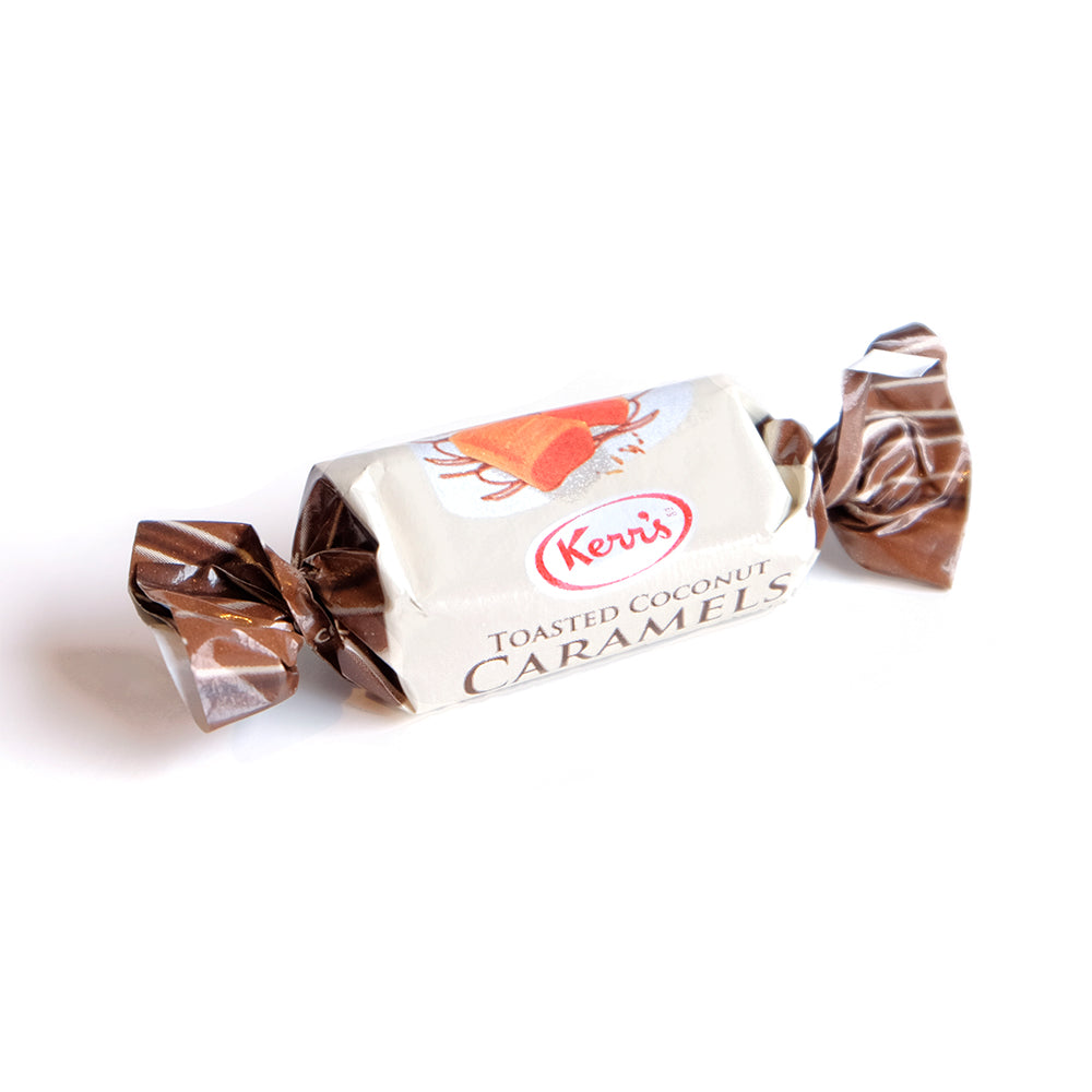 Toasted Coconut Caramels