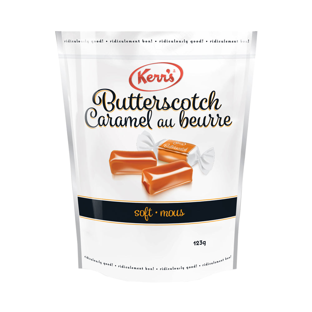 Kerr's soft butterscotch caramels