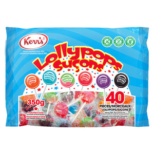 Kerr's Assorted Lollypops 350g