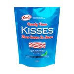 Kerr's Candy Cane kisses, peppermint chewy mint candy