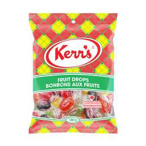 Kerr's Fruit Drops five (5) flavours