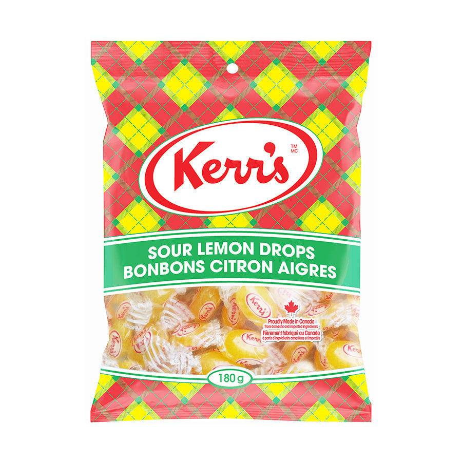 Kerr's Sour Lemon Drops