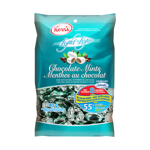 Kerr's chocolate mints light no sugar added