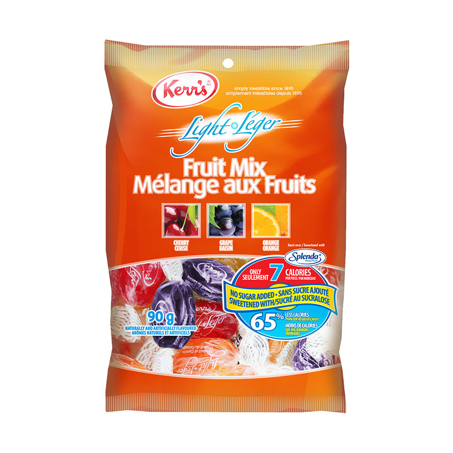 Kerr's fruit drops mix light no sugar added