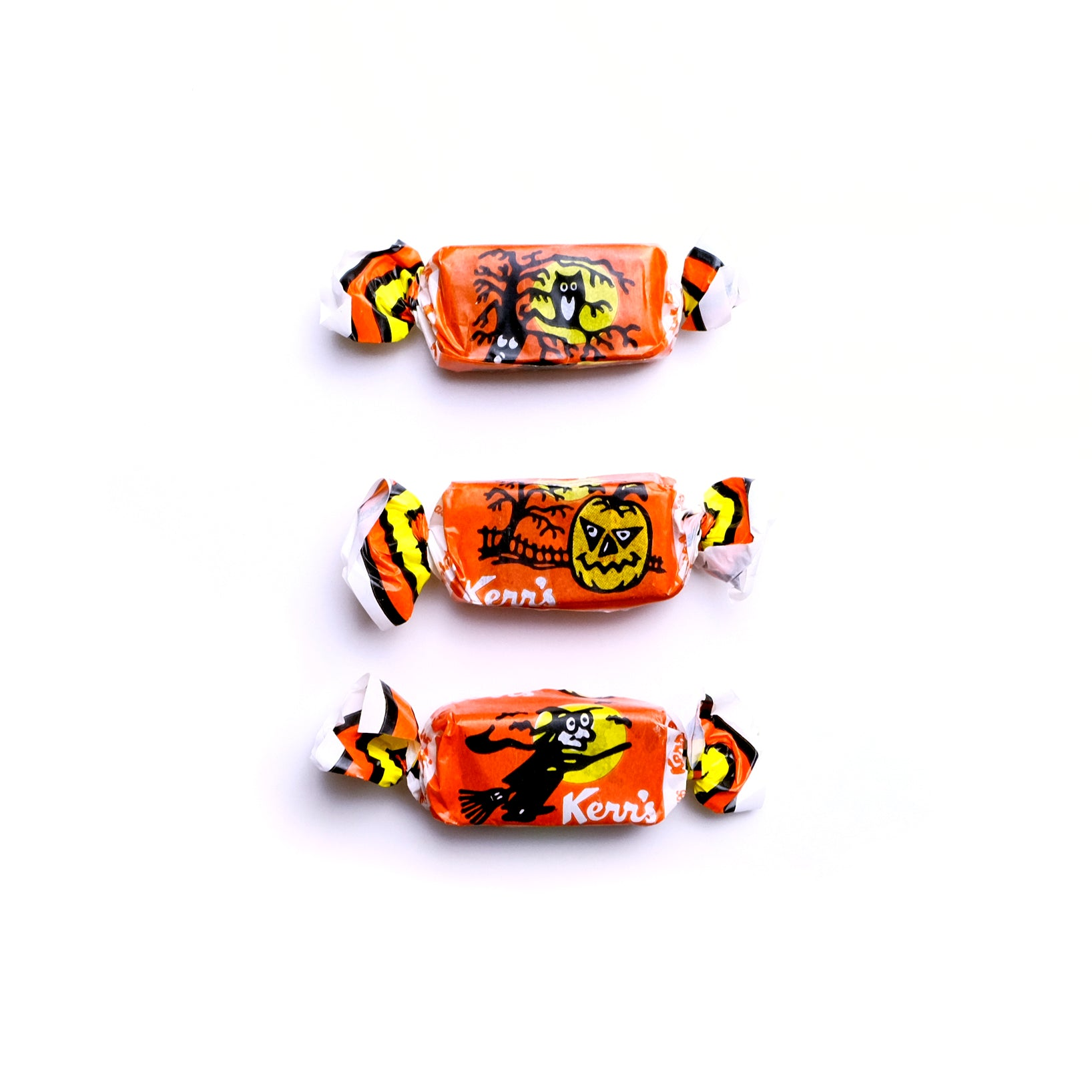 Kerr's Molasses Kisses Halloween Taffy