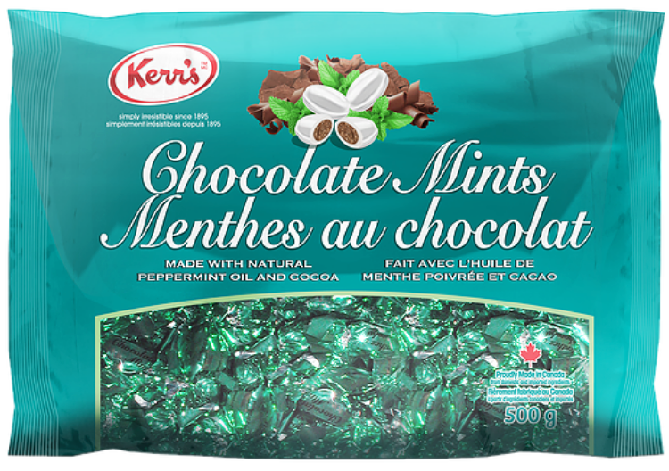 Kerr's Chocolate Mints 500g