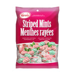 Kerr's Striped mints Peppermint and Spearmint
