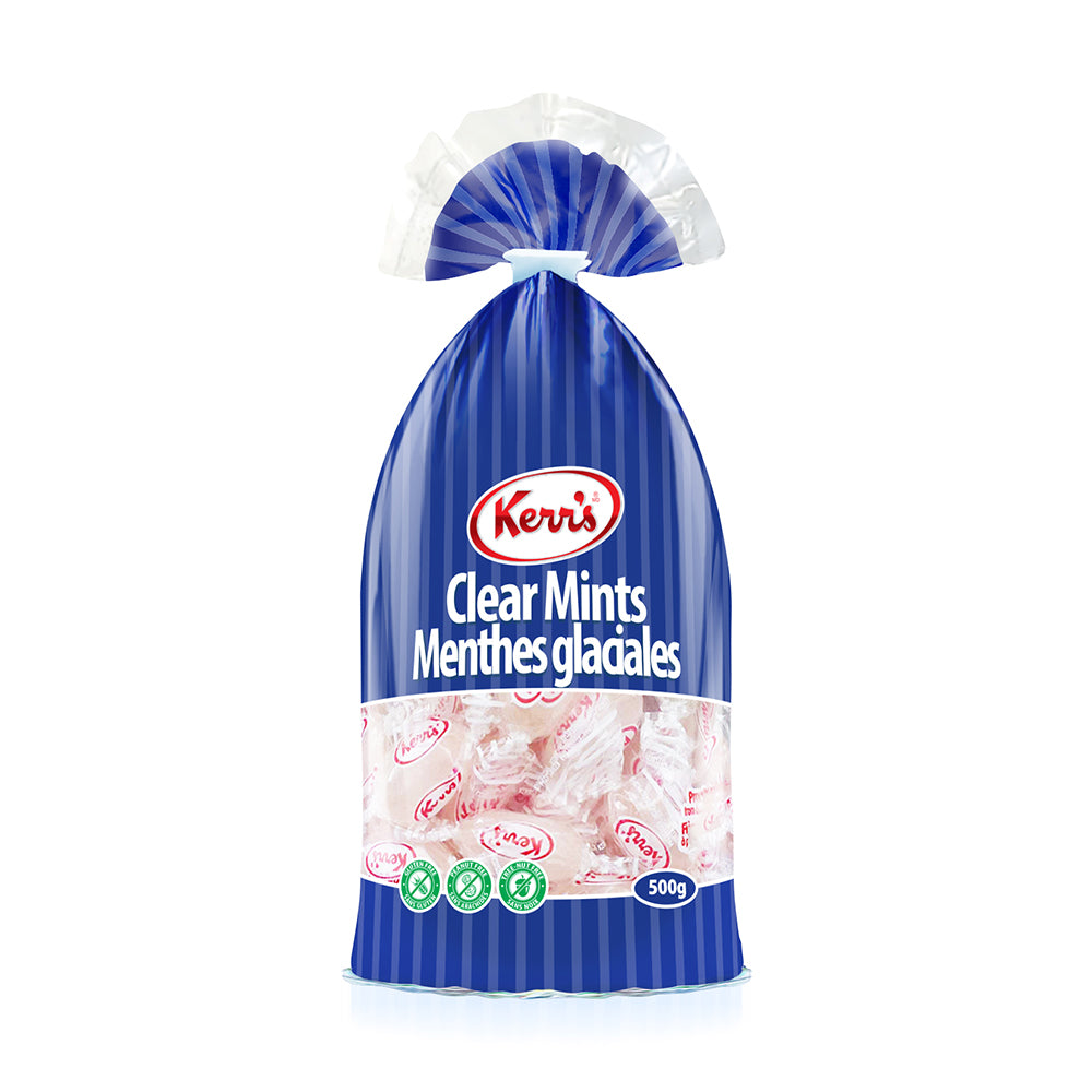 Kerr's Clear peppermint hard candies