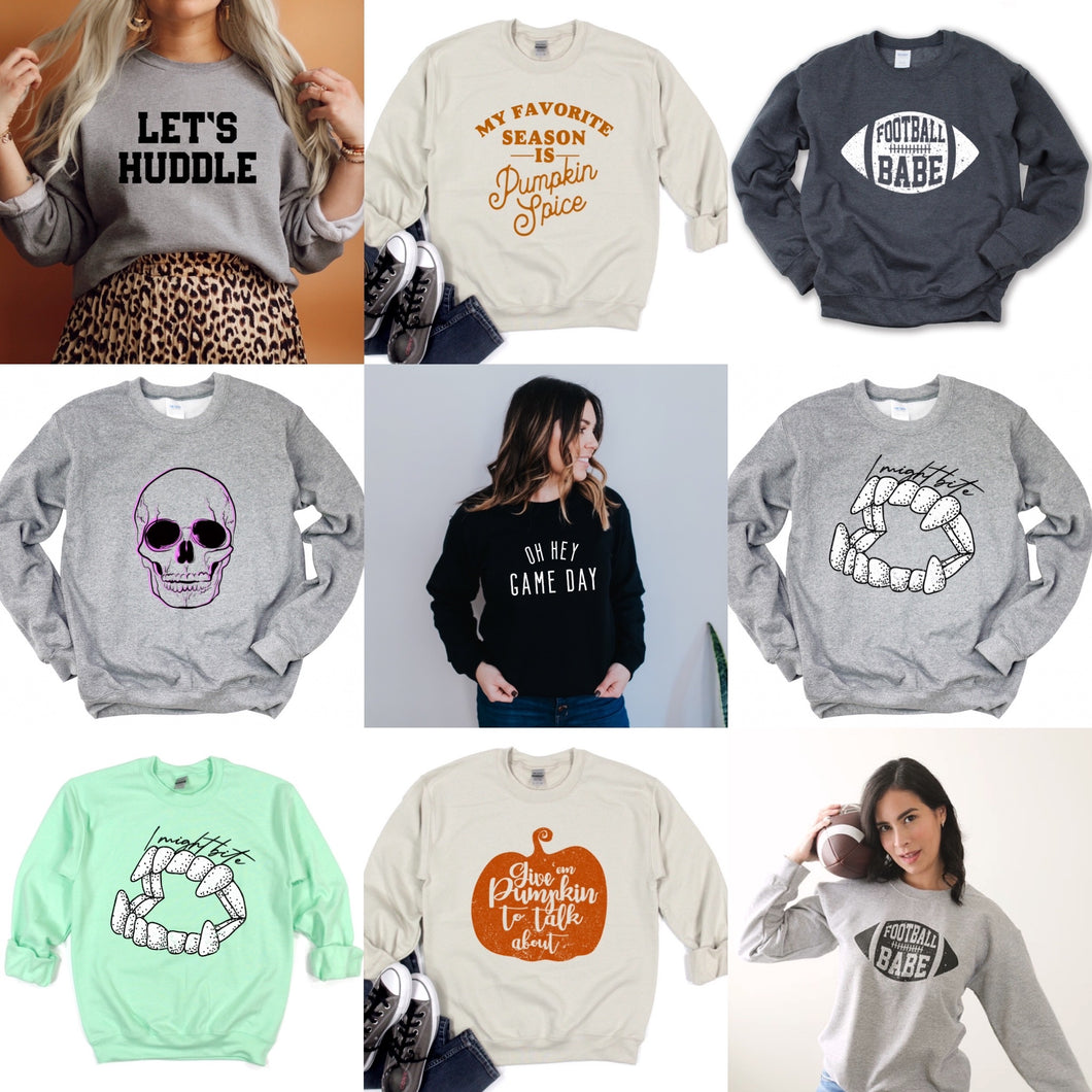 FALL Sweatshirt Grab Bag - Plus Size